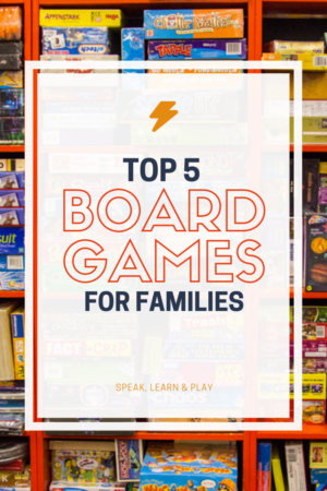 Top 5 Family Board Games